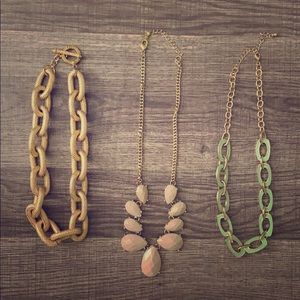 Forever 21 Necklaces (3)